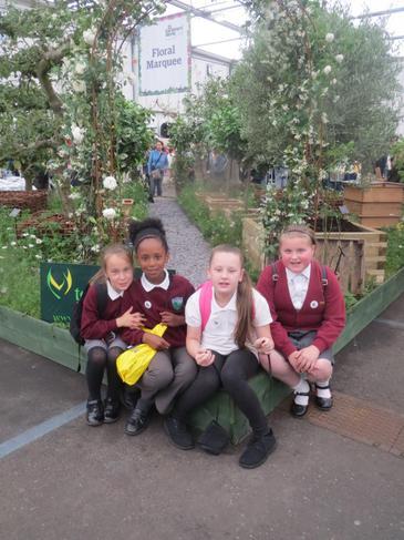Children at the Garden show