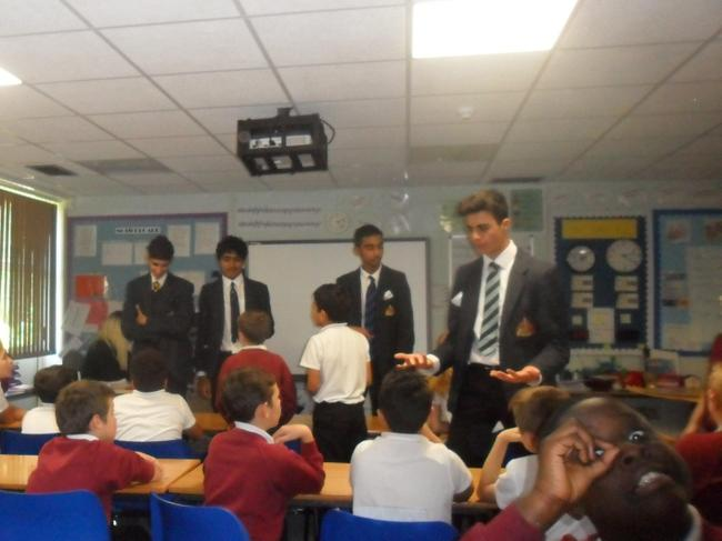 Debate with King Edwards School