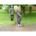 Andrzej was King of puddle jumping!