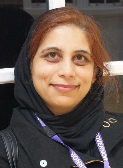 Mrs Zarka Shazad (Parent Governor)