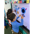 Many of our children used Music Technology to explore sounds!