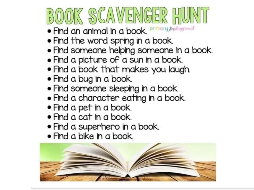 A great way to remind you of some of the books you may have forgotten you have!