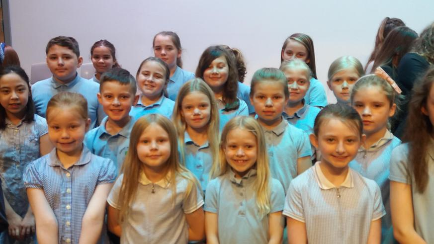 Our choir at Longbenton Music Festival