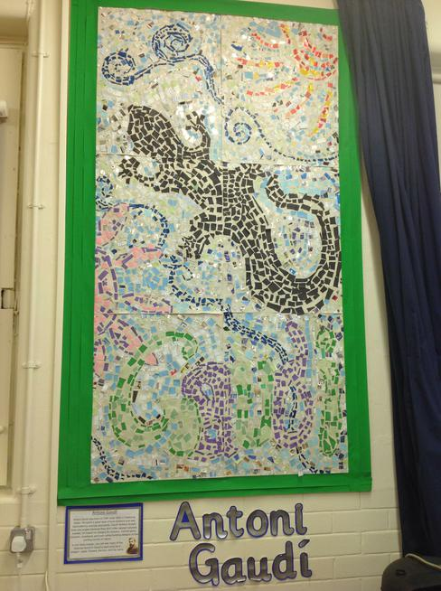 Year 4 studied the work of Antoni Gaudi