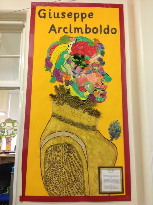 Year 1 studied the work of Giuseppe Arcimboldo