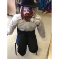 Our finished Guy Fawkes