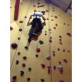 We go to Redpoint climbing center.