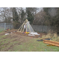 Day 6 Our Tee Pee's are taking shape!