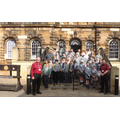P7 Class outside Crumlin Road Gaol