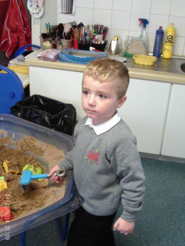 We all love the sand tray