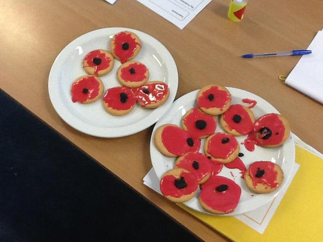 Our Poppy cookies.