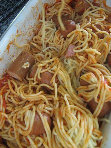 Worms And Spaghetti from The Twits