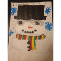 A Lovely snowman Lucas