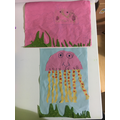 What super jellyfish collages!