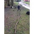 I made a snake.