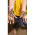 Beautiful Mendhi pattern Mahveen