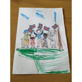 Lovely VE Day colouring Teja!