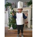 What an amazing chef's costume!