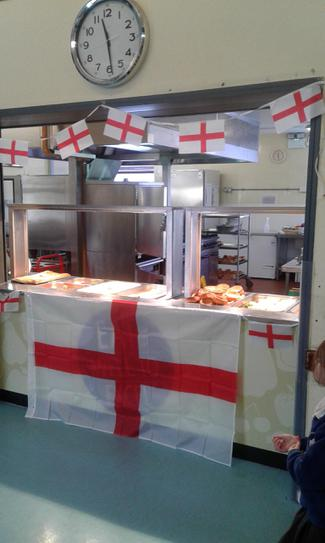 Our St Georges Day Service