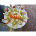 Satyaki and his mum made this yummy fruit salad.