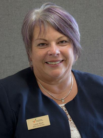 Lynne Short, Senior Area Manager