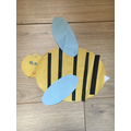 Sophia made a shape bee.