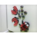 Sophia made this wonderful collection of ladybirds