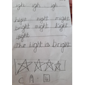 Fantastic phonics work, Durga!