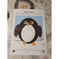 Kristian made a super penguin.