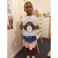 I made a super penguin