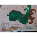 What a beautiful mermaid painting, Rares!