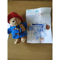 Teja's painted her Paddington Bear!