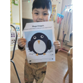 What a gorgeous penguin!
