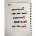 Dania coloured some excellent repeating patterns.