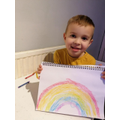 What a super rainbow for today's Maths Challenge!