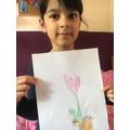 I drew this tulip.