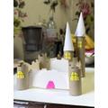 David built a castle!