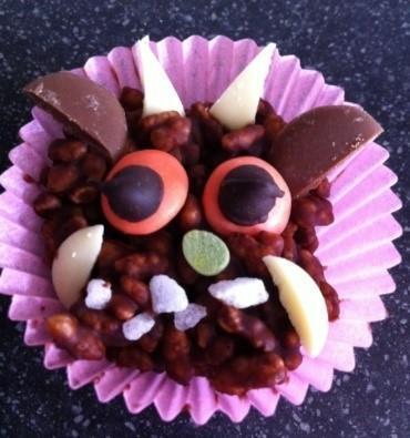 Gruffalo Crispy cakes