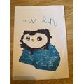 Owen drew this amazing penguin!