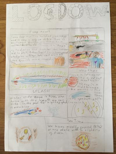 A happy report from Elijah!
