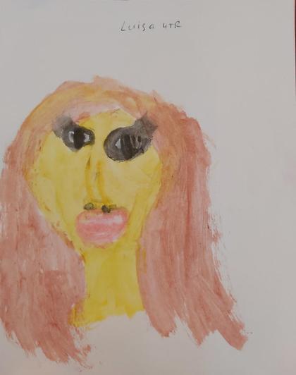 Luisa's painted prtrait