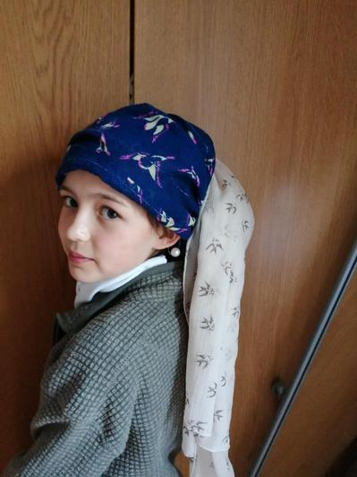 The girl with the pearl earring by Bea