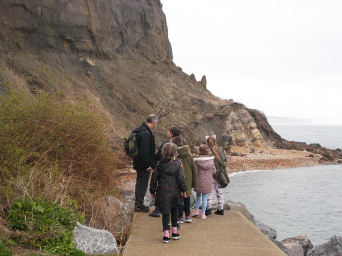 Year 4 coastal studies on the Isle of Wight