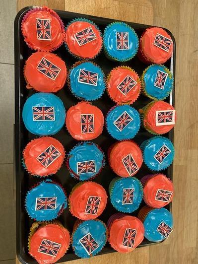Ellen's finished cakes!
