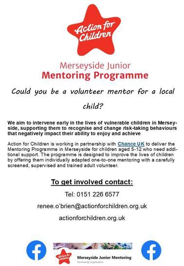 Action for Children Volunteer Poster