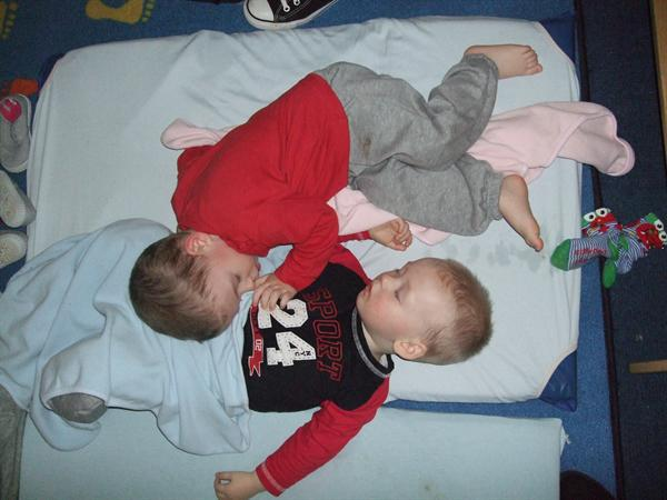 Me and my brother at sleep/rest time
