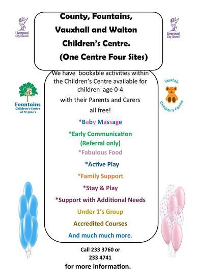 Children's Centre Poster