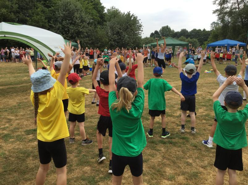 Sports Day Warm-Up