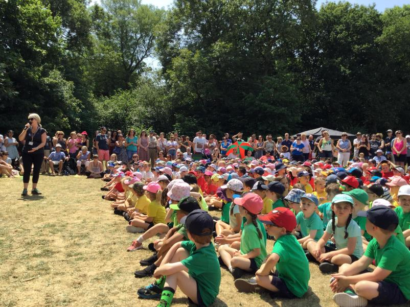 Sports Day Announcements