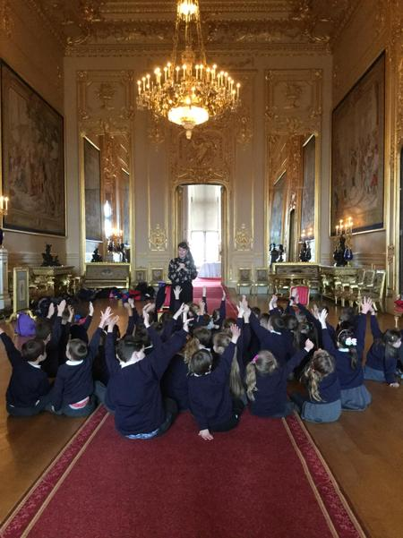 Inside the State Rooms at Windsor Castle